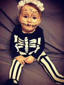 Halloween Long Sleeve Unisex Rompers
