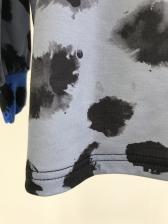 Contrast Color Letter Crew Neck Sweatshirt
