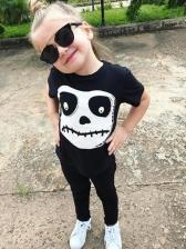 Halloween HumanSkeleton Printed Kids Clothes