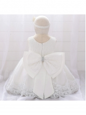 Stylish Gauze Patchwork Flower Girl Dresses