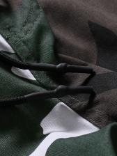 Fashion CamouflageDrawstring Cargo Pants