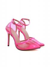 Fashion Transparent Solid High Heels
