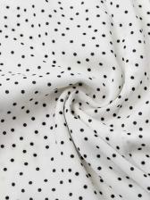 Hot Sale V Neck Split Hem Polka Dots Dress