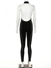 Reflect Backless Off Shoulder Jumpsuits For Women