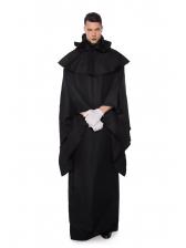 Black Robes Eerie Devil Costume For Halloween