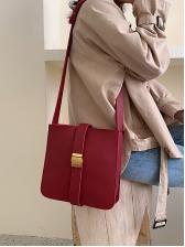 Square Shape Solid Ladies Shoulder Bags
