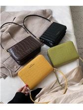 Stone Grain Printed Cross Body Handbags