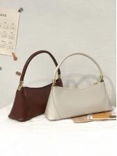 Korean Style Solid Baguette Designer Handbags Sale