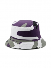 Camouflage Reversible Bucket Hat For Men