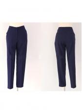 OL Style Patchwork Long Slim Waist Blazer Suit