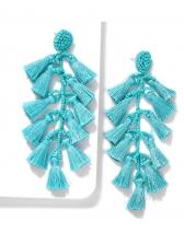 Bohemian Tassel Long Earrings For Women