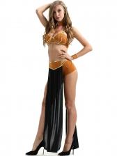 Halloween Cosplay Secy Maxi Dress