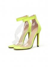 Fashion Transparent Bandage High Heels For Women