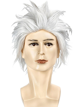 Halloween Cosplay Short Curly High Temperature Fiber Synthetic Wigs