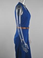 Hot Sale Surplice V Neck Wide Leg Jumpsuits