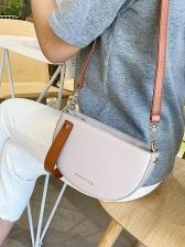 Versatile Semicircular Removable Belt Crossbody Bags