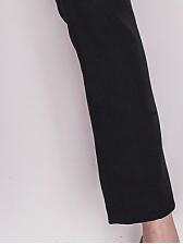 Ol Style Minimalist Skinny Women Black Pants