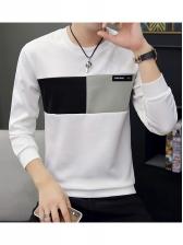 Hot Sale Contrast Color Crewneck Sweatshirt