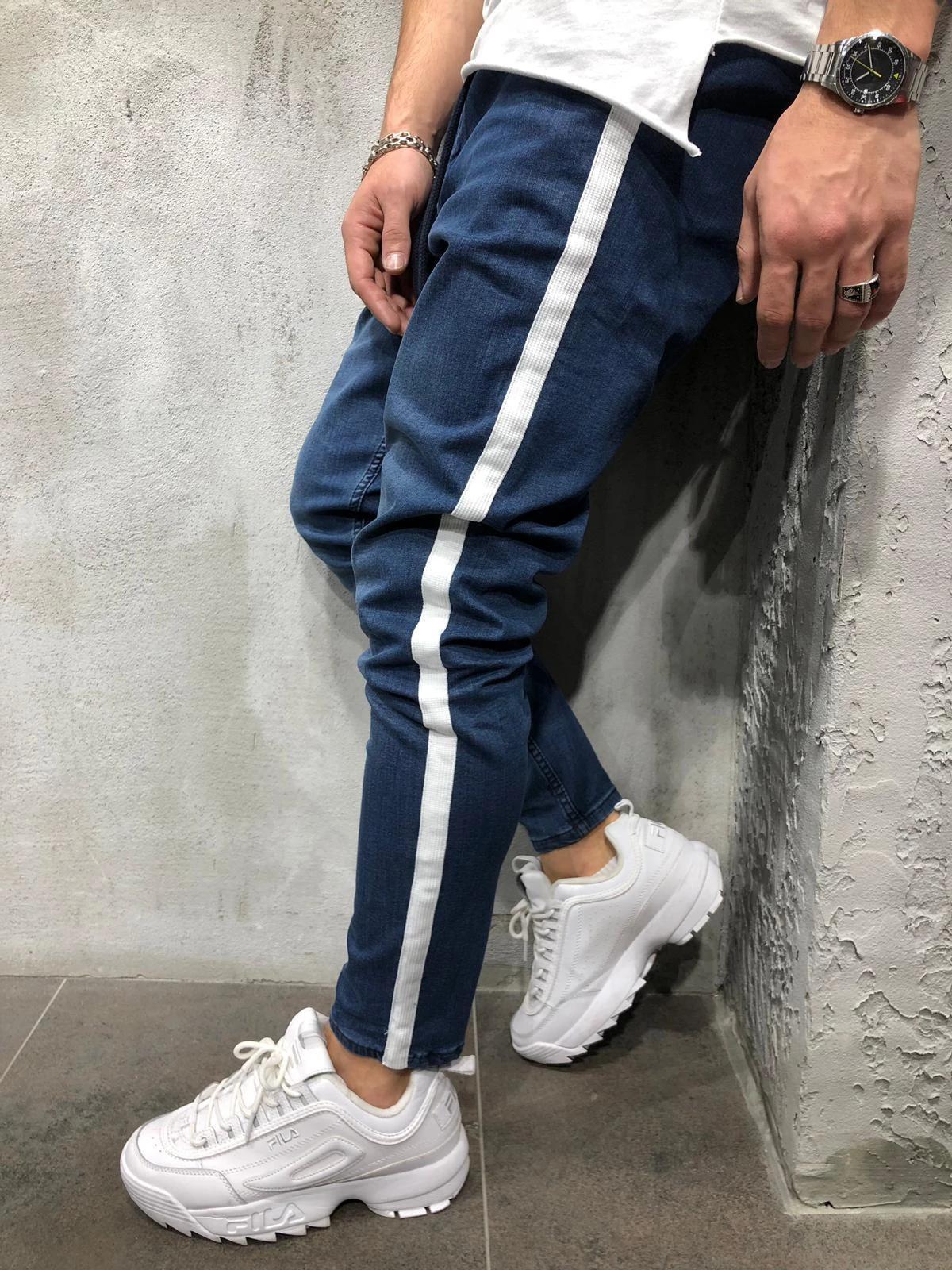 Leisure Solid Zip Up Pencil Pants