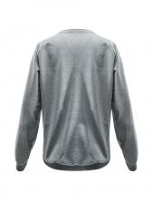 Skull Girl Printed Long Sleeve Sweatshirts For Women