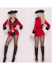 Pirates Cosplay Mini Dress Halloween Costumes For Women