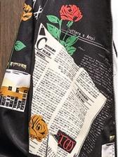 Creative Printed Long Sleeve Outerwear