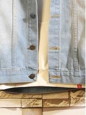 New Style Diamond Printed Pockets Mens Jackets