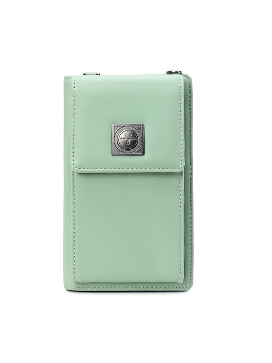 Korean Style Simple Solid Phone Bag