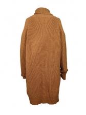 Winter Warm Turtle Neck Long Sleeve Sweater Dress