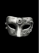 Archaize Style Half Face Plastic Mask For Men