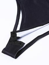 Plaid Flame Printed Long Sleeve Bodysuit