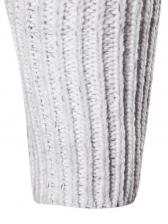 Leisure Letter Long Sleeve Zip Up Sweater Outwear
