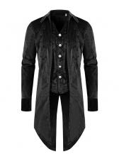 Fashion Patchwork Button Down Men Outerwear