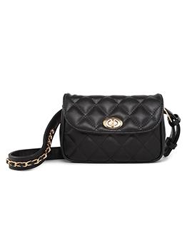 Plaid Chain Buckle Chain Ladies Shoulder Bag