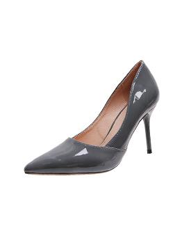 Solid Night Club Pointed Toe Stiletto Heels
