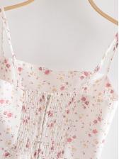Slim Fit Floral Sleeveless Summer Dresses