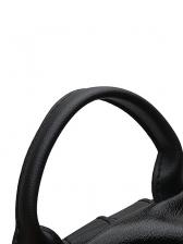 Simple Style Waterproof Black Backpacks For Women