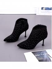 Fashion Beading Rhinestone Boots For Women