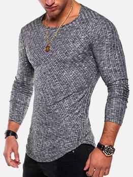 Casual Solid Men t Shirt Design