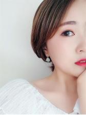 Sweet Heart Candy Bead Asymmetric Earrings For Women