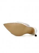 Rhinestone Glitter Pointed Toe Womens Slippers