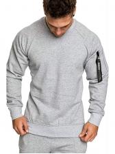 Euro Long Sleeve Crew Neck Sweatshirt