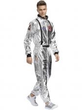 Halloween Astronaut Cosplay Men Jumpsuit