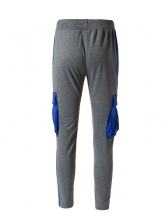 New Style Contrast Color Mens Pants