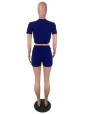 Crew Neck Striped Side Ladies Sportswear