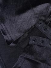 Simple Design Solid Straps Lady Bodysuits