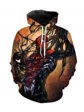 3D Spider-Man Printed Hoodies For Men