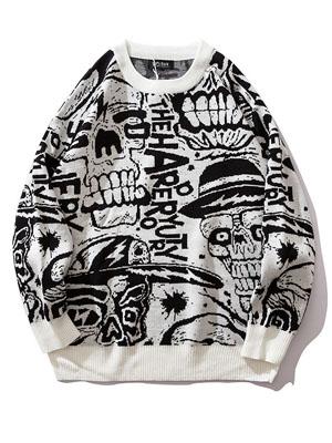 Autumn Loose Street Pullover Sweater