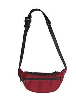 Multiple Zipper Plastic Buckle Crossbody Shoulder Bag