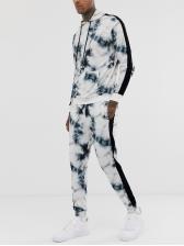Leisure 3D Printed Hooded Activewear Sets